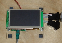 MBS270 with Toradex WQVGA Touch TFT